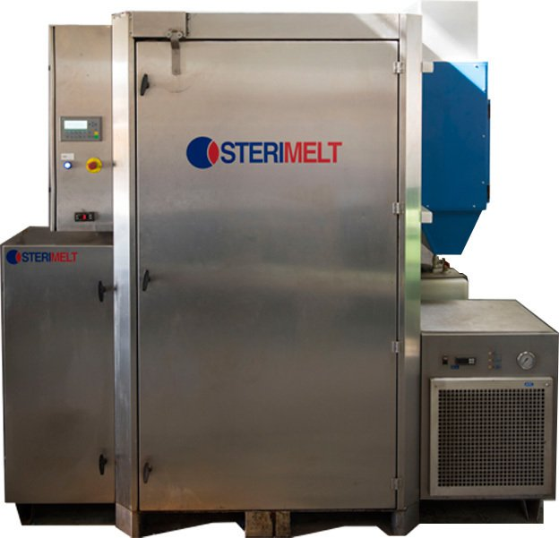 The Sterimelt recycling unit (© TCG)